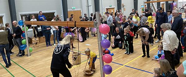Gymnaster med slag i fyldte Sæby Spektrum