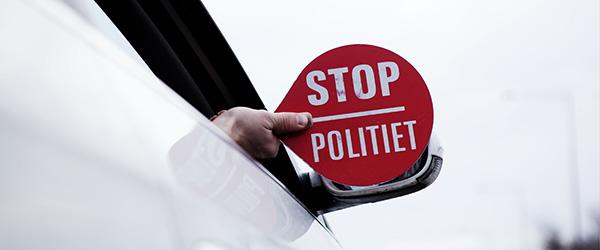 Politi - stop