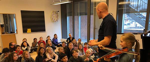 Musikskolen afholder skolekoncerter i hele kommunen