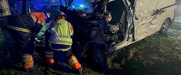 Alvorlig trafikulykke nær Østervrå