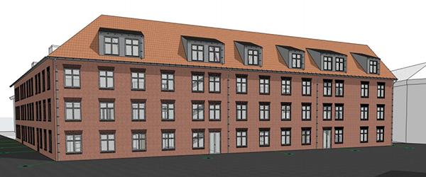 Ny planlægning af byggeri på Krystaltorvet i Sæby