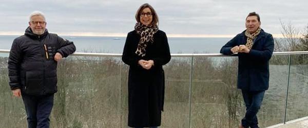 Pernille Weiss besøgte Frederikshavn