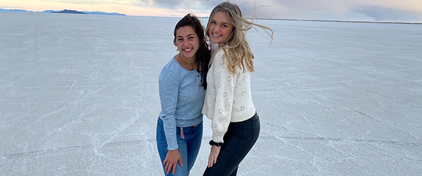 Tidligere HHX-elev Emilie Mikkelsen er begejstret for at studere på Brigham Young University