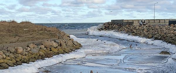 Is dannet i Sæby Å