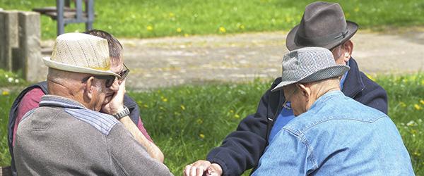 Projekt skal forebygge ensomhed hos ældre mænd