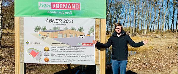 Kasper er den nye købmand i Min Købmand Voerså