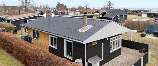 Nybolig Sæby: Hyggeligt, fredeligt beliggende tæt ved Sæby's bedste badestrand
