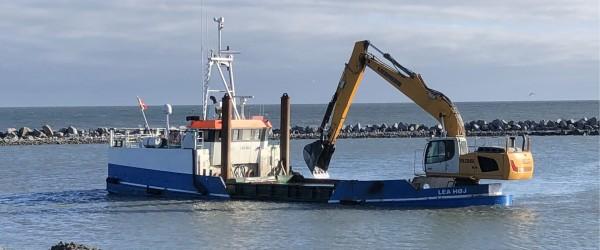 Historien er dukket op til overfladen i Sæby Havn