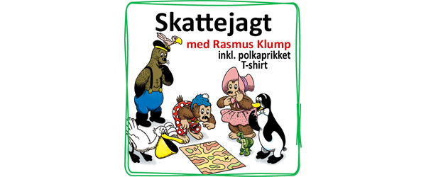 Tag på skattejagt med Rasmus Klump i Sæby