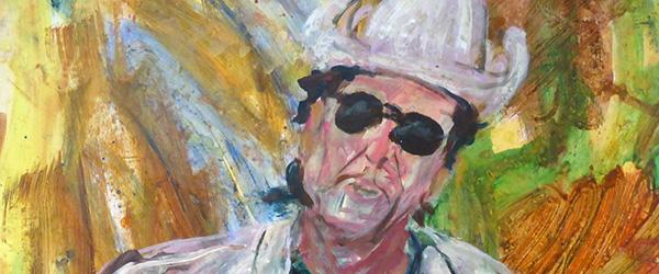 Kunster Jørgen Agerbæk hylder Bob Dylan