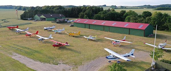 Sæby Flyveplads ved Ottestrup er reddet