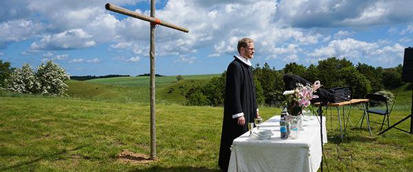 Pinsegudstjeneste i det fri ved Understed Kirke