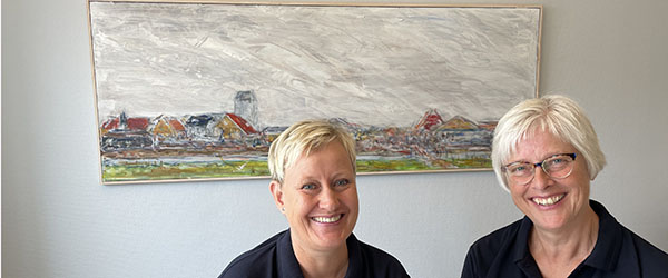 Tandlægeklinik i samarbejde om udstilling af kunst