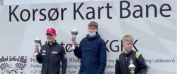 Sæby-drengen Milan Rytter lægger stærkt ud som seniorkører