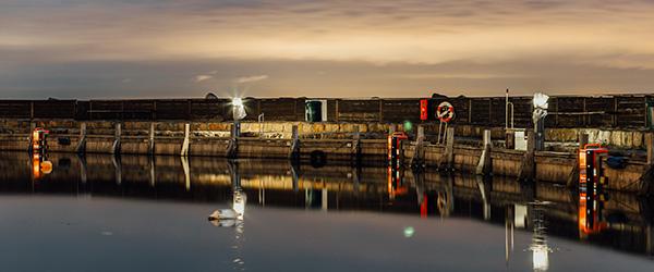 3 nye redningsstiger fra TrygFonden på Sæby Havn
