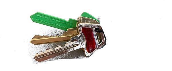 Sæby Avis søger ejeren til tabte nøgler