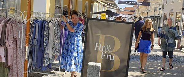 Hr & Fru B udvider med ny butik i gågaden