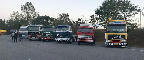 Over 100 lastbiler til Nordjysk Veteranrally i Sæby