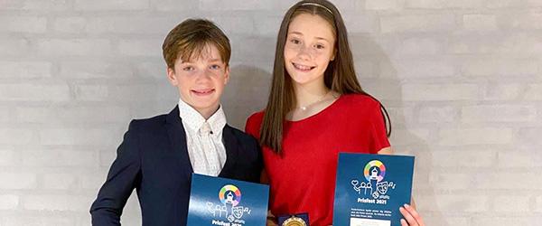 Lokal pige vinder Årets individuelle Præstation