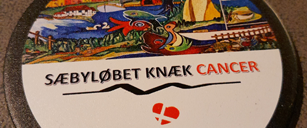Sæbyløbet Knæk Cancer offentliggør medaljedesign