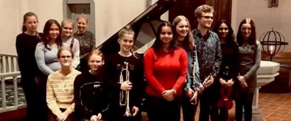 Musikskoleelever giver koncert i Sæby Kirke